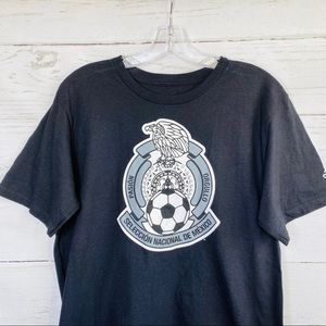 Adidas Mexico National Futbol Soccer Team Tee